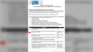 UHN fee schedule