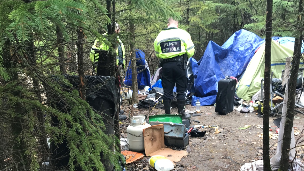Nearly triple amount of homeless camps cleaned up in Red Deer this year