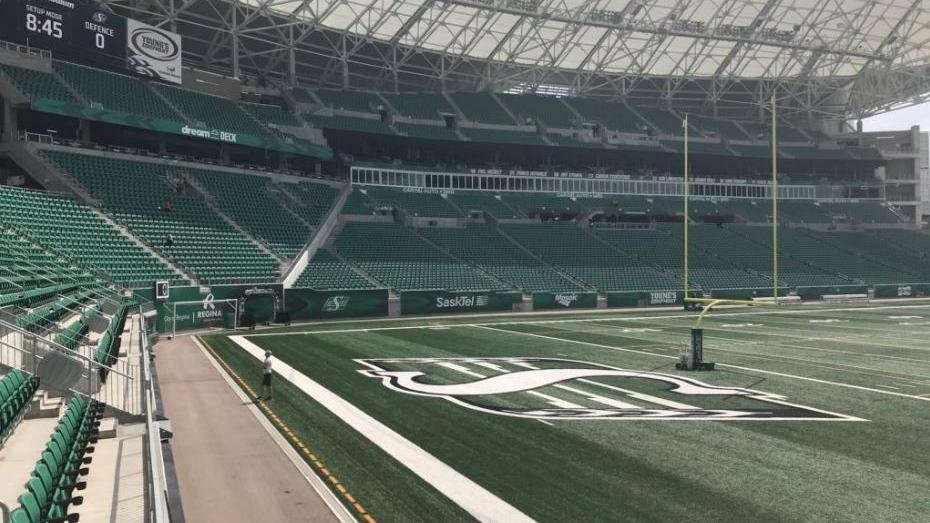 Mosaic Stadium (Claire Hanna / CTV Regina)