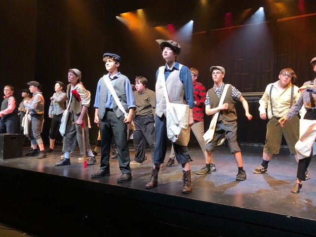 North Bay students put on the musical Newsies