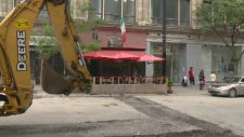Ferrari restaurant on Bishop Street braces for more construction