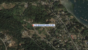 The project will be a collection of two- and three-bedroom units in eight triplex buildings at 176 Bishops Walk Rd. (Google Earth)
