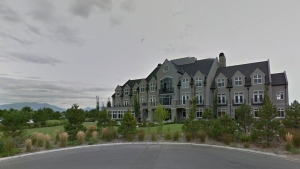 An undated image of Sleepy Ridge Golf Course in Orem, Utah, taken from Google Maps.