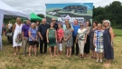 A special ceremony was held on July 16, 2019 at the site of the future Georgian Bay Cancer Support Centre