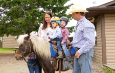 (John Owens and his family have operated Griffin Valley Ranch since 2009. Owens took over from his grandfather, Harold Griffin.)