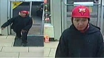 Saskatoon police are asking for the public's help in identifying and locating a male responsible for an armed robbery Tuesday morning. (Courtesy Saskatoon Police Service)