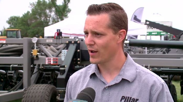 Warman company shows off innovative air seeder at Ag in Motion