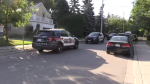 Police were called to a residence on Samuel Street in Kitchener on Tuesday morning.