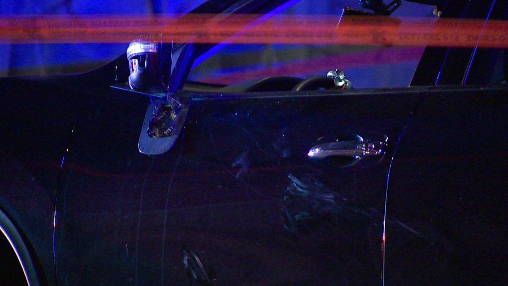 Woman arrested following hit-and-run that left pedestrian critically injured