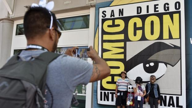At Comic-Con International San Diego 2018