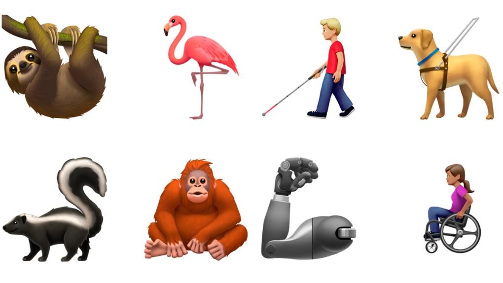 New emojis released by Apple