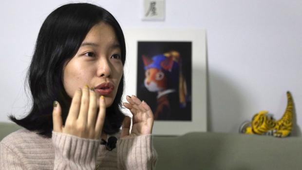 Screenwriter Zhou Xiaoxuan