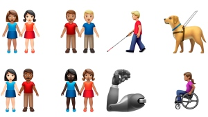 New emojis echoing inclusion and diversity announced | CTV