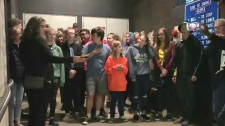 Winnipeg Youth Choir's rendition of 'Lean on Me' g
