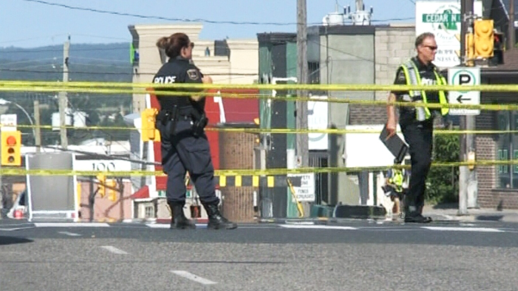 Timmins pedestrian crash