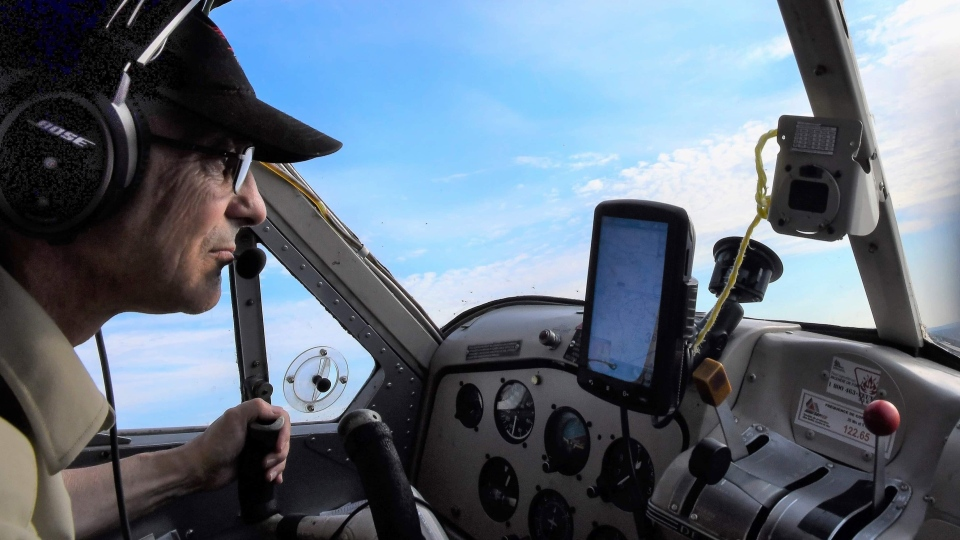 Gilles Morin is seen in this undated handout photo. Gilles Morin, 61-year-old pilot with Air Saguenay was one of seven people on board a float plane that crashed into a Labrador lake on July 15, 2019. (THE CANADIAN PRESS/HO, Jean Tremblay)