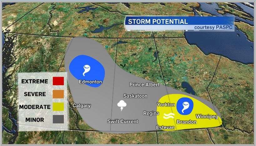 Storm outlook July 17