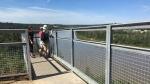 The Keillor Point viewing area. (John Hanson/CTV News Edmonton)
