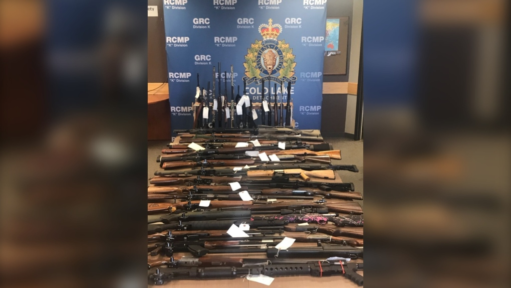Cold Lake Weapons Seizure