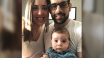 Jon Volpe with his wife Kendall and their 10-month-old son Daniel. (Jon Volpe)
