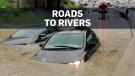 Toronto roads turn to rivers during commute