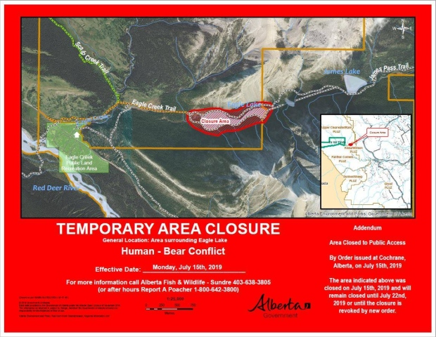 Eagle Lake grizzly closure