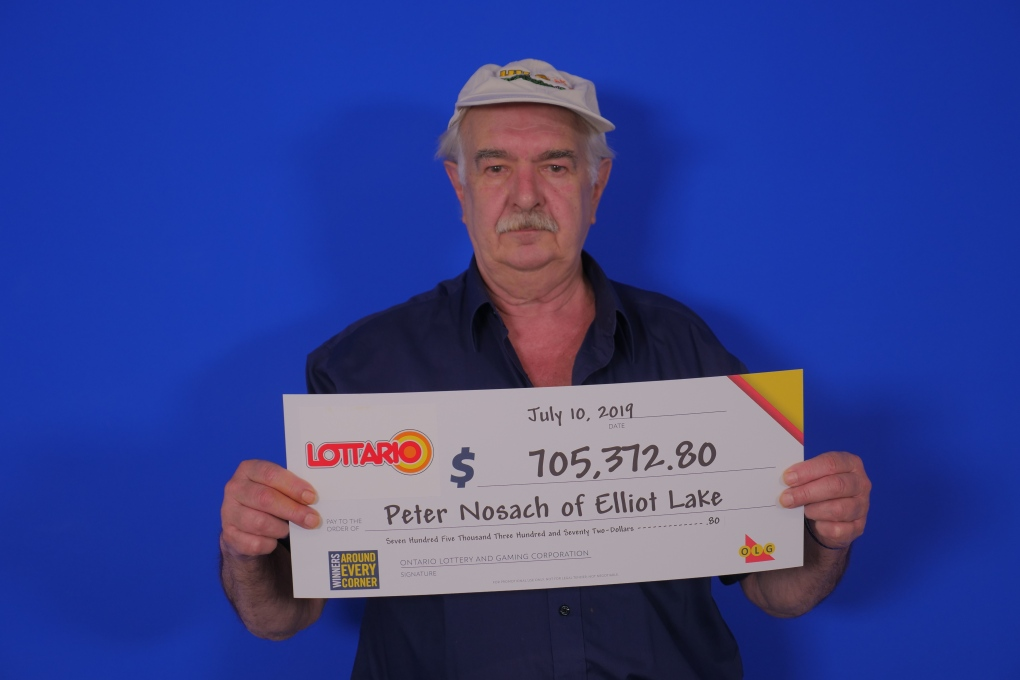 Elliot Lake resident wins big on Lottario