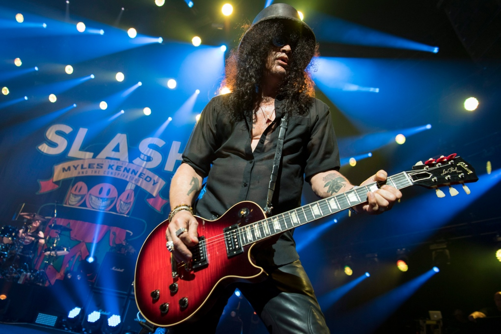 Guitar god Slash to rock the Queen E theatre Thursday