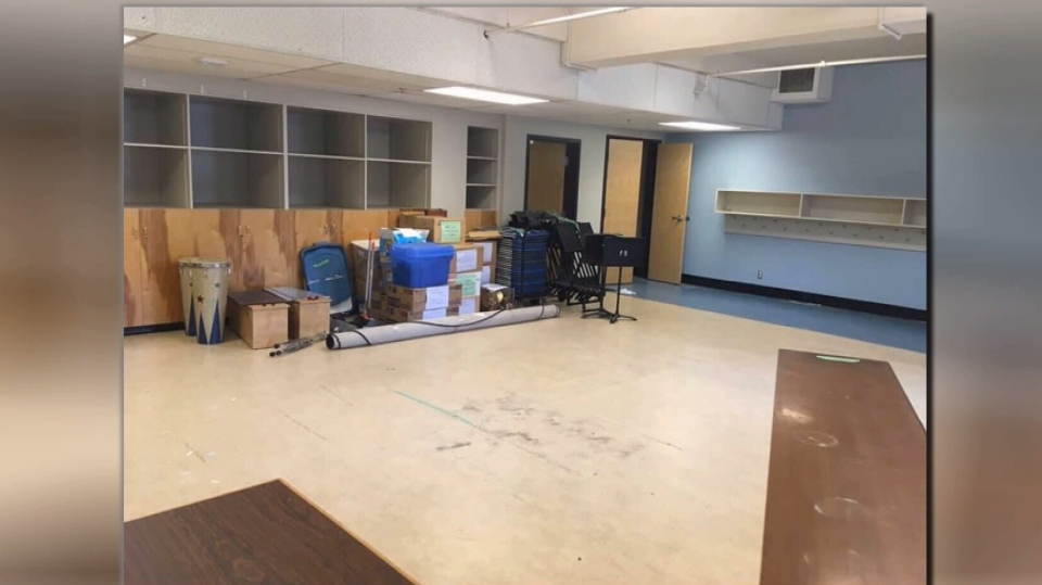 The former music room at George Jay Elementary. (File photo)