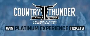 Country Thunder 2019 Carousel