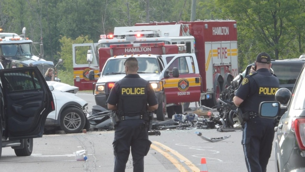 Fatal collision closes Highway 6 South | CTV News Kitchener