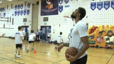 Ottawa's first NBA player gives back