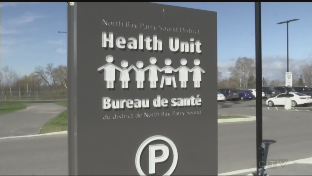 (File photo) North Bay Parry Sound District Health Unit