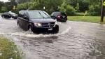 Roads, flooding