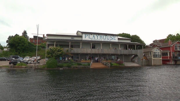 Record water levels in the Great Lakes and surrounding rivers have left some businesses scrambling as the tourist season is in full swing.
