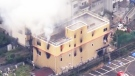 'You die': Man sets fire at Japanese anime studio