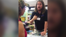 U.S. gas station worker won't serve Mexican women