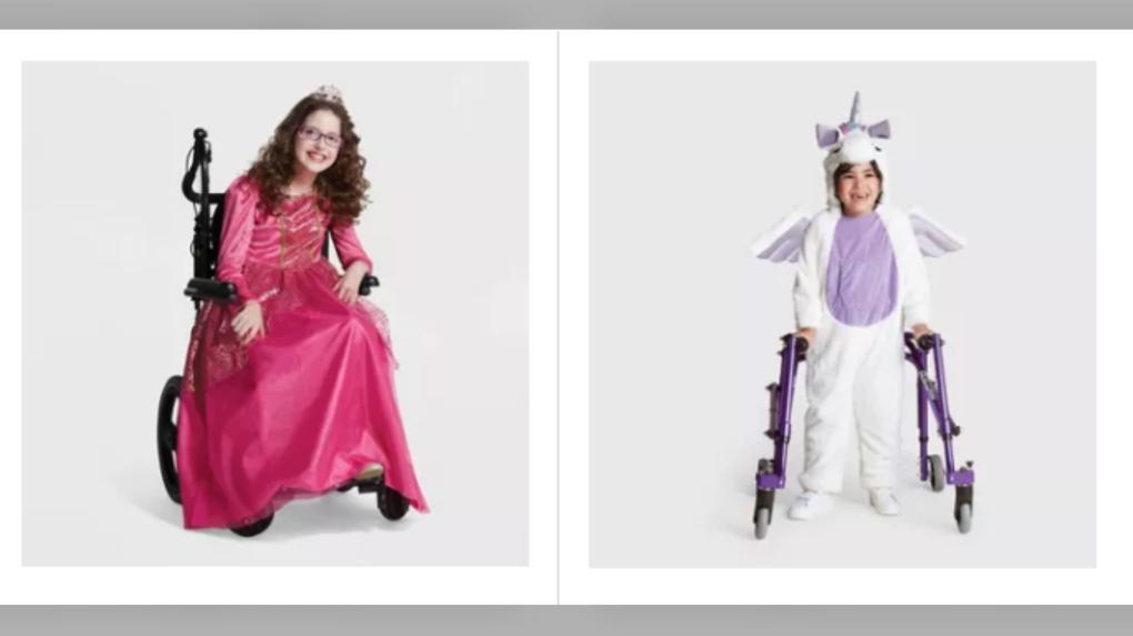 Target adaptive halloween costumes