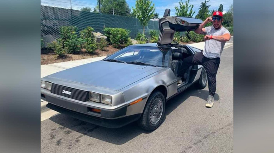 Campbell River's Ben Coyle realized a lifelong dream with the purchase of the 1981 DeLorean. (Submitted)