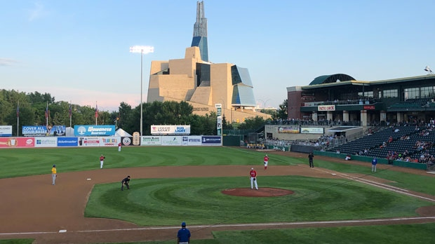 A beautiful night for a Goldeyes game. Photo by Robbie Swaffer.