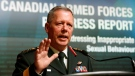Chief of Defence staff General Jonathan Vance speaks during a news conference to , in Ottawa Tuesday August 30, 2016. The Canadian Armed Forces says it is making progress in the fight against sexual misconduct in the ranks, but much more work needs to be done. (THE CANADIAN PRESS/Fred Chartrand)