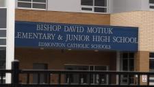 Bishop David Motiuk Catholic school