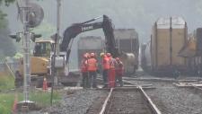 CP Rail construction