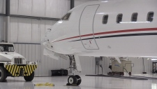 Lake Simcoe Regional Airport hangar