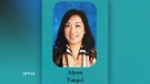 Alyssa Tungul was suspended from her position as a teacher at Bishop David Motiuk Catholic Elementary / Junior High School after it was learned Edmonton police were investigating allegations she assaulted a student at a previous school. (Photo provided.)