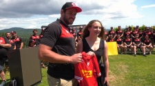 Trinity Bodenchuk was surprised when Rugby Canada announced she would accompany the team to this year's World Cup in Japan. July 18, 2019. (CTV Vancouver Island)