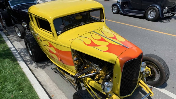 Thousands of vintage cars are back in Victoria for a popular event that's only held once every three years – Northwest Deuce Days. July 18, 2019. (CTV Vancouver Island)