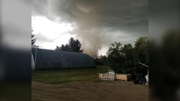 Tornado, Carmangay, Alberta, July 18