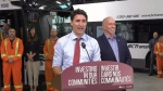 The federal and provincial governments have each contributed $31 million for the new buses while municipalities are pitching in $16 million. (CTV Vancouver Island)