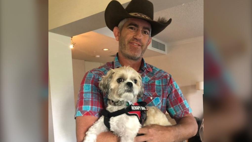 Jeffrey, Garner, support, dog